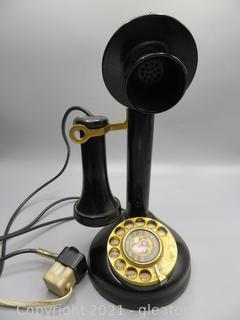 1970's Candlestick Phone Made in Singapore