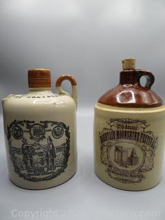 Whiskey and Moonshine Jugs (2)
