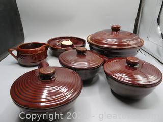 Vintage Mar Crest Stoneware