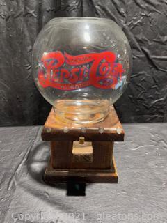 Pepsi Cola Gumball/ Nut Dispenser