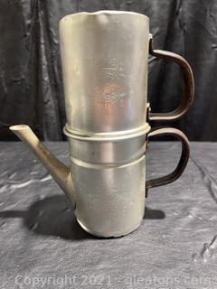 1940's Neapolitan Coffee /Espresso Maker Made in Italy