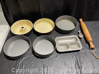 Bake Ware Lot (Lot of 8)