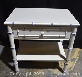 Thomasville Faux Bamboo Night Stand
