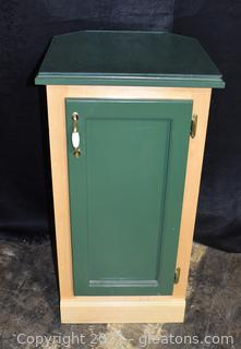 County Cupboard with Glass Protector