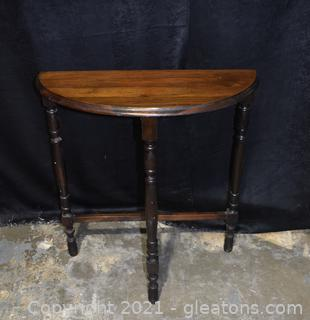 Small Tall  Entry Table
