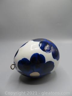 Arabia GOG Easter Egg Ornament
