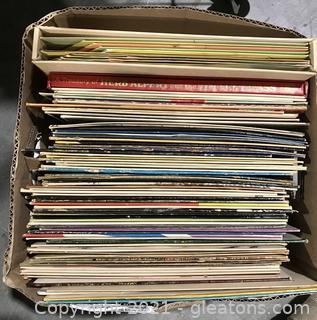 1960s Vinyl Records Box Lot