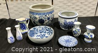 Chinese Planters, Vases and More