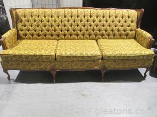 1970's Mod Sofa & Chair