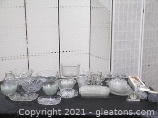 Dazzling Large Glass Lot
