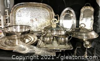Silver Plate Hostess Collection
