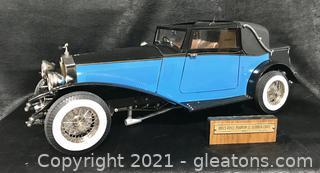 The Rolls Royce Phantom II (1932) Drop Head Sedanca Coupe