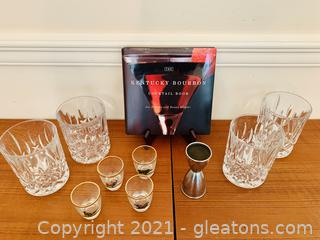 The Kentucky Bourbon Cocktail Book and Spirit Ware