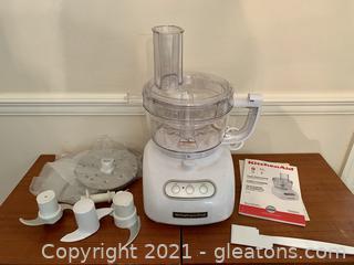 Kitchen Aid KFP740WH1 Food Processor