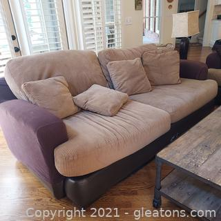 Comfy 3 Persons Sofa- Great for College Student