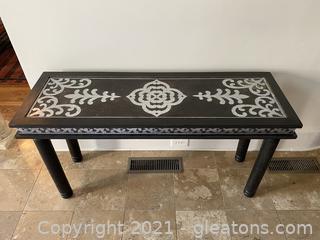 Beautiful Handmade Console Table