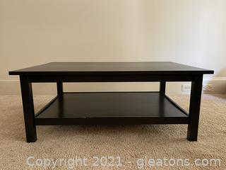Solid Wood IKEA Hemnes Coffee Table