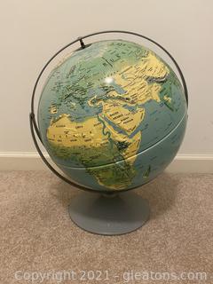 Vintage Nystrom Globe 37-476