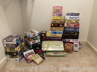 Fabulous Lot of Board Games