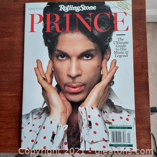 """Rolling Stones """"Prince"""" Special Collector's Edition Magazine"""