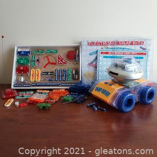 Snaps Circuits Kit with Snap Rover
