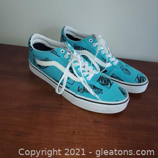 Scuba Blue/Black Van's Men Ward Sneakers