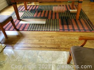 Lovely Hand Knotted Area Rug