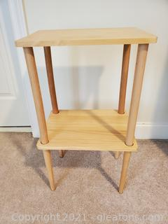 IKEA Two Shelf Wooden Table