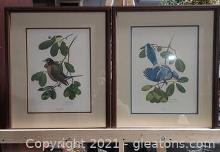 Pair of Ray Harm Signed Prints, Framed