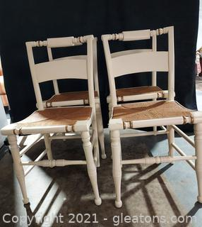 4 Vintage Hitchcock Chairs
