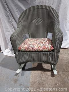 Exceptional Wicker Rocking Chair