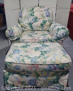 Pennsylvania House Armchair with Ottoman