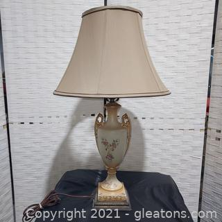 Vintage Victoria Style Colonial Lamp