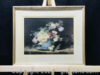 Beautiful Tea Roses Framed Print From The Bombay Company