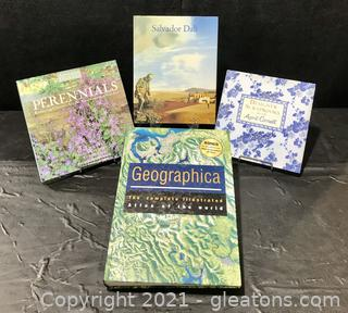 Collection of Colorful Coffee Table Books