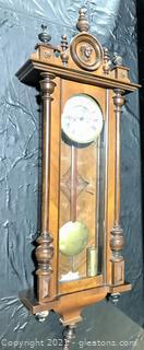 Vienna Regulator Wall Clock by Muller & Schlenker - Late 1800s