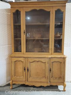French Country Style China Cabinet – Matches 2404