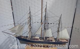 Historic Cutty Sark Model Ship- Plastic