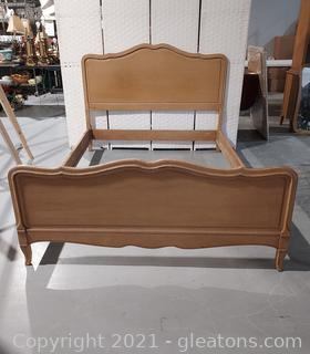 1947 Pretty French Provincial Full Size Bed (Matches 2413,2414,2415)