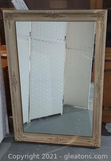 Gorgeous Large French Gilt Mirror