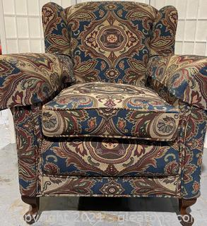 Accent Chair Club Footed