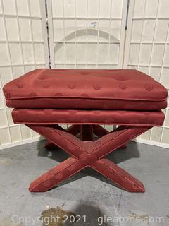 Upholstered Base Ottoman