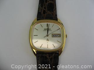 Vintage Men's Seiko Watch
