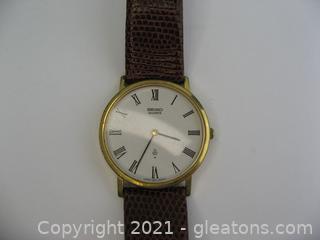 Men's Classic Seiko Watch