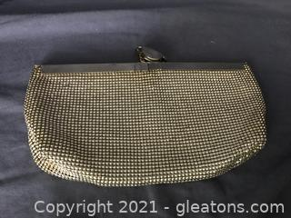 Whiting and Davis silver mesh evening bag