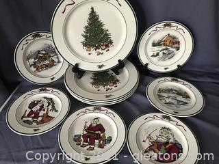 The Celler Christmas plates