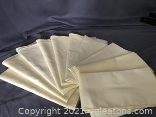 Set of 10 wash and use napking
