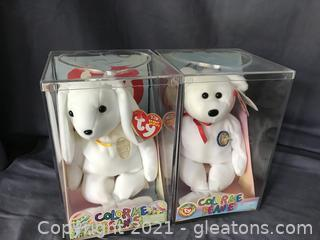 Ty Color me Beanie Babies