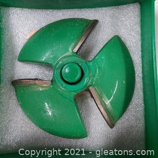 """Woodworking Grizzly Industrial Shaper Cutter Bit ¾"""" Bore"""