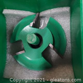 """Woodworking Grizzly Industrial Shaper Cutter # C2128 ¾"""" Bore"""